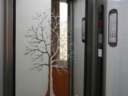 Realizace vpanelovém domě bez výtahu
